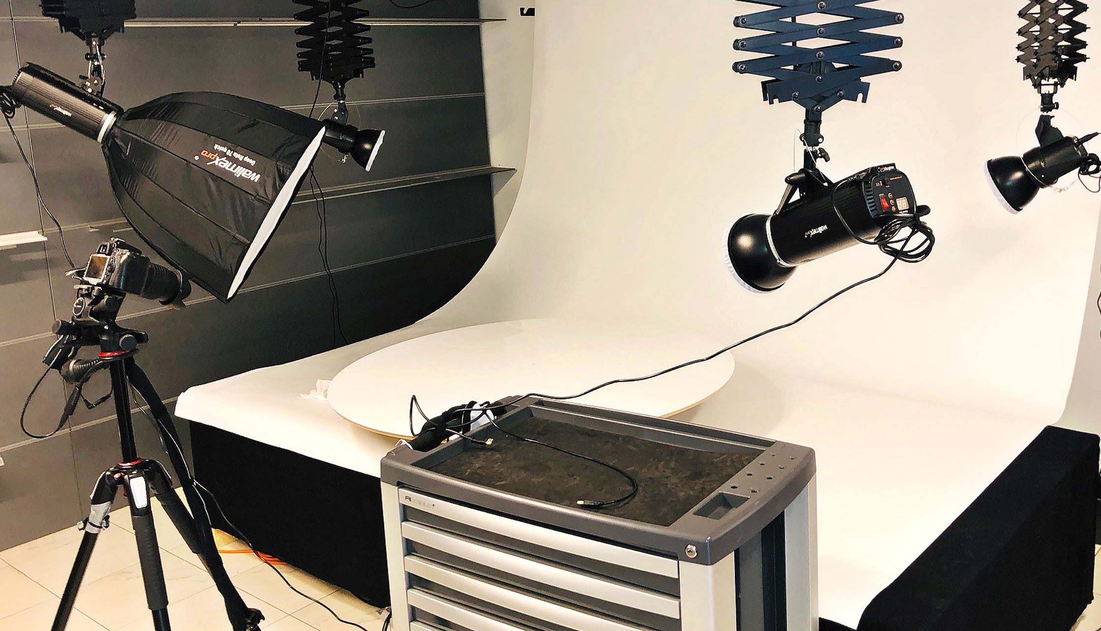 Fotostudio 360 Grad Produktfotografie
