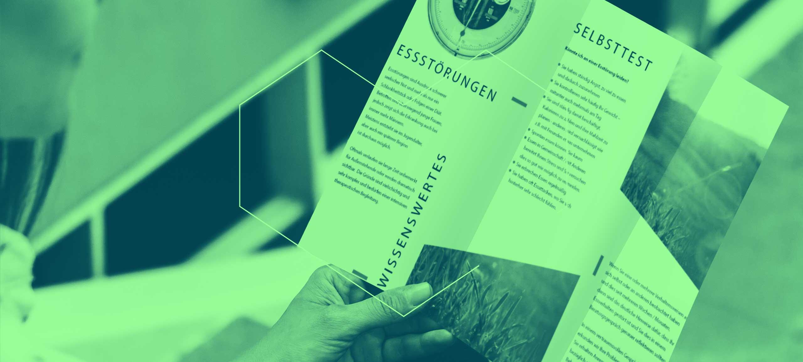 Trifold-Broschüre Soroptimist Club Kufstein