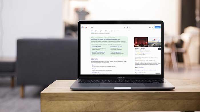 Referenz Google Ads Suchmaschinenmarketing